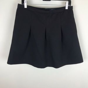 Madewell Sz 10 Black Full A Line Two Pockets Skirt